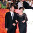 Javier Bardem au bras de la ravissante Julia Roberts, à l'occasion de l'avant-première italienne de  Mange, Prie, Aime , à Rome, le 16 septembre 2010.