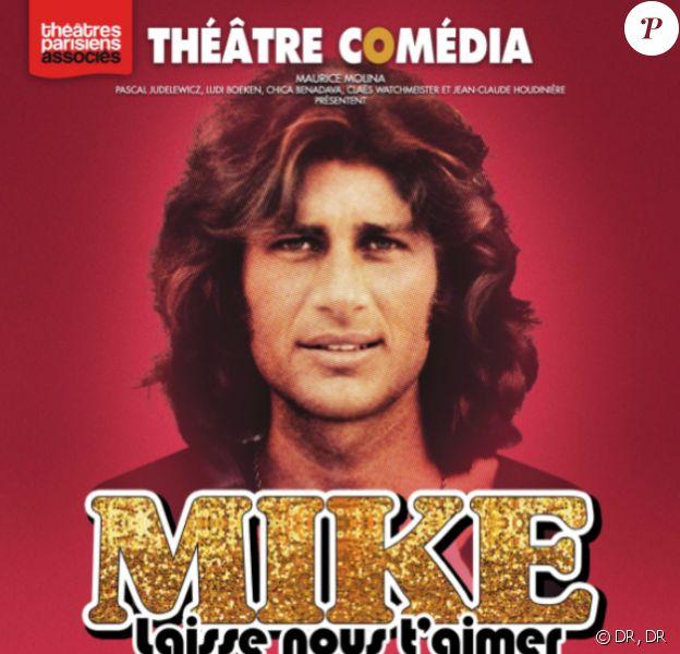 Mike Brant : Laisse nous t'aimer au théâtre Comédia depuis le 16 septembre