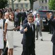 Nicolas Sarkozy, Carla Bruni, Barack Obama et Michelle Obama