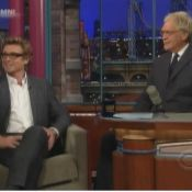 Simon Baker vit une grosse humiliation en direct chez Letterman...