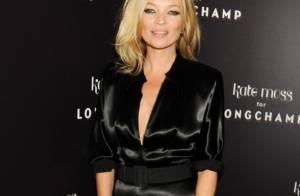 Suivez Kate Moss dans sa plus belle histoire d'amour avec Longchamp...