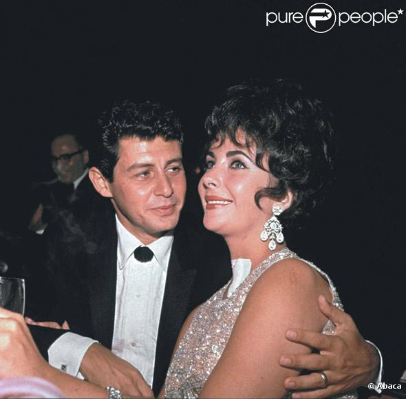 Eddie Fisher et Elizabeth Taylor en 1960