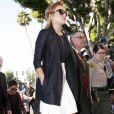Lindsay Lohan arrivant au tribunal de Los Angeles, le 24 septembre 2010