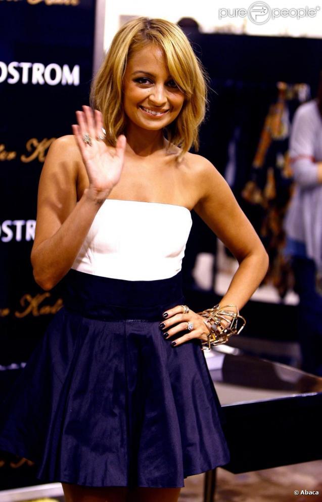 Nicole Richie à la promotion de sa nouvelle collection, le 25 septembre 2010