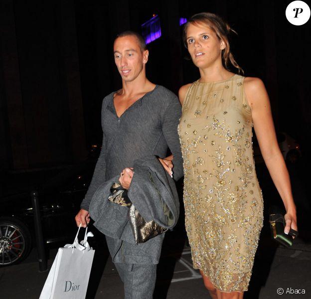 Laure Manaudou et Frédérick Bousquet