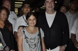 John Travolta : Il profite de sa fille et parle de son futur bébé !