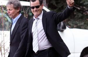 Charlie Sheen heureux : Sa fille aînée s'est mariée !