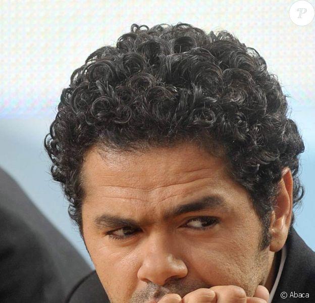 Jamel Debbouze s'est blessé sur le tournage du Marsupilami, à Bruxelles, le 28 septembre 2010.