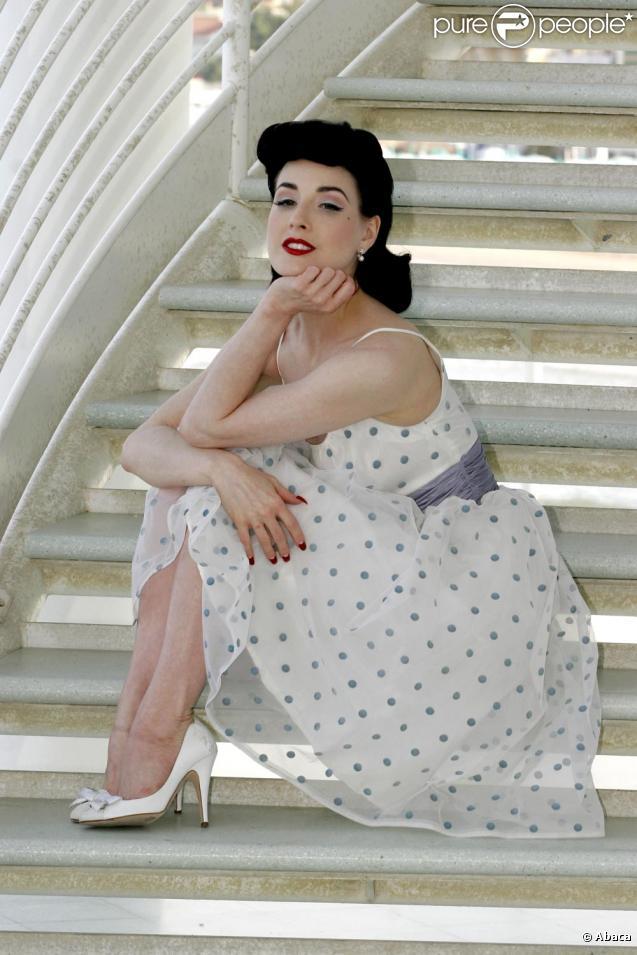 Dita Von Teese, la plus rétro des beautés contemporaines !