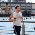 Ethan Hawke en plein jogging dans les rues de New York