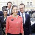 """""""Victoria de Suède et Daniel Westling à Pau, le 28 septembre 2010."""""""