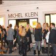 L'inauguration de la boutique de Michel Klein au 9 rue Jacob dans le 6e arrondissement de Paris le 30 septembre 2010
