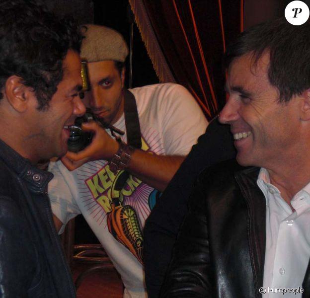 Jamel Debbouze présente son nouveau DVD, Made in Jamel, au Comedy Club, le 1er octobre 2010