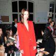 Vanessa Traina lors du défilé Givenchy à Paris
