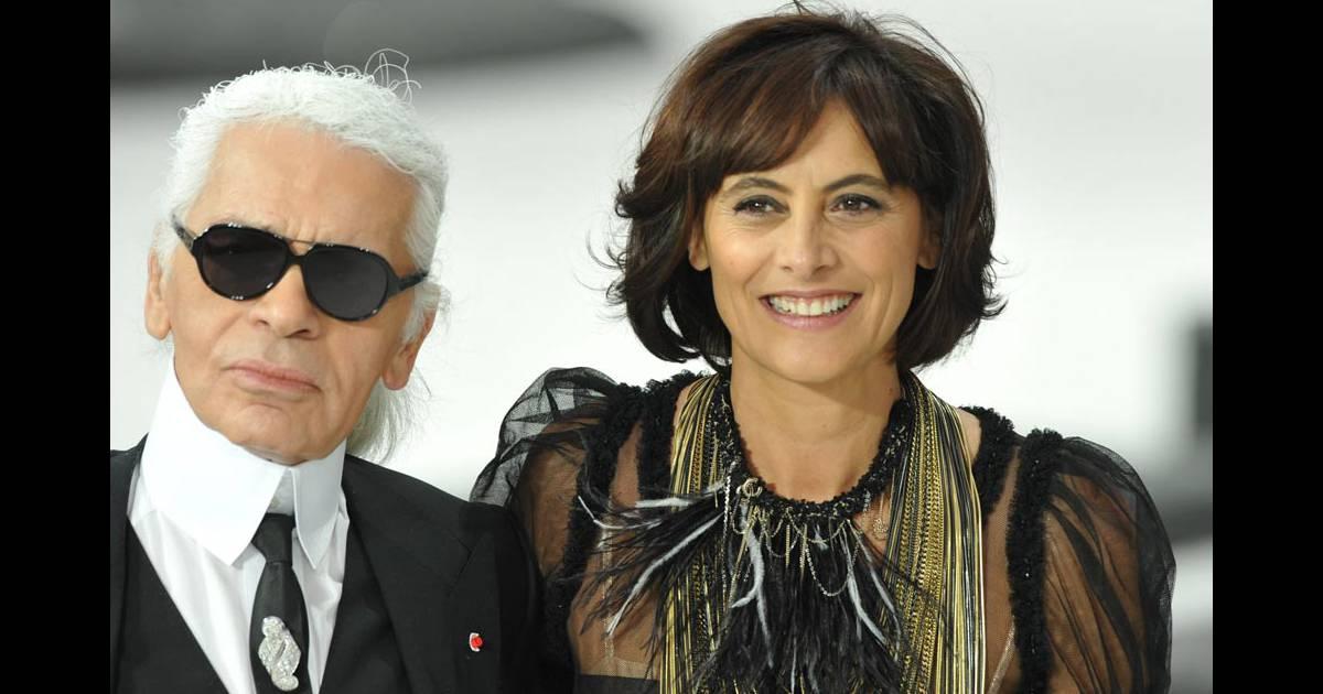 Défilé Chanel   Inès de la Fressange redevient muse du grand Karl... -  Purepeople a1aa7c2001f9