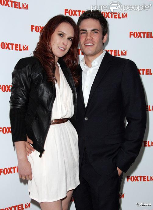 Rumer Willis et son compagnon Micah Alberti à Sydney en Australie en septembre 2009