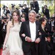 Alain Delon et Anouchka Delon à Cannes, 14 mai 2010.