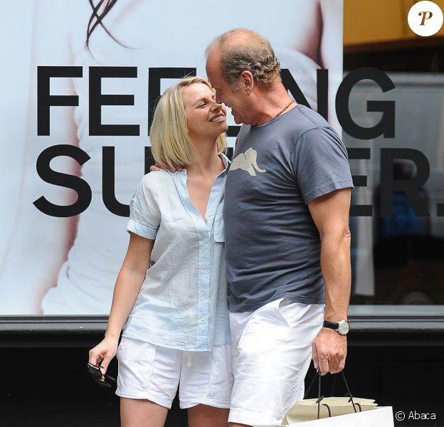 Si heureux en août 2010, Kelsey Grammer, 55 ans, et Kayte Walsh, 29 ans, ont eu depiuis la douleur de perdre l'enfant qu'elle portait...