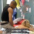 Massage sensuel entre Stéphanie et son ex Senna... Qu'en pense Amélie ?