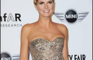 Heidi Klum : Ce n'est plus un ange mais elle continue de jouer les topmodels !