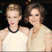 Keira Knightley et Carey Mulligan, deux clones au côté de Gillian Anderson !