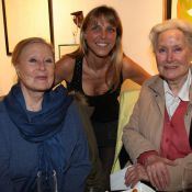 Michèle Morgan, toujours aussi pétillante, entourée de ses proches !