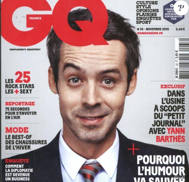GQ novembre 2010