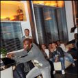 Zoumama Camara lors de la soirée XBox Kinect le 19/10/10