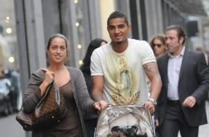Kevin-Prince Boateng : Quand le joueur du Milan AC se repose en famille !