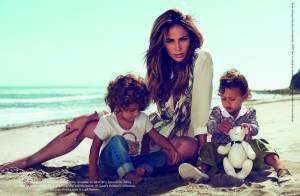 Jennifer Lopez et ses jumeaux, stars de la nouvelle campagne Gucci !