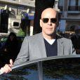 Bruce Willis est à Paris pour la promo de Red, le 21 octobre 2010
