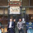 Patrice Evra va au restaurant seul, avant de retrouver sa voiture avec un PV, à Manchester, le 21 octobre 2010