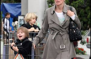 Sharon Stone : Ses fils sont de vrais petits gentlemen !