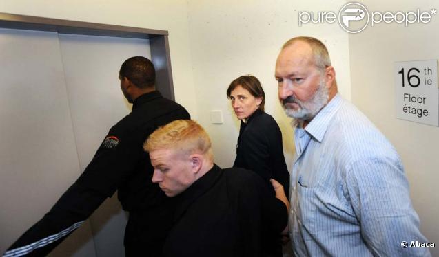 Randy et Evi Quaid retenus par le bureau de l'immigration à Vancouver, le 22 octobre 2010