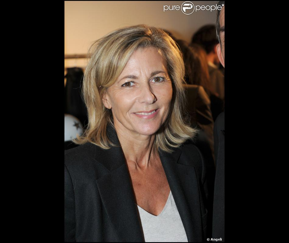 la journaliste et pr sentatrice du jt de tf1 claire chazal. Black Bedroom Furniture Sets. Home Design Ideas