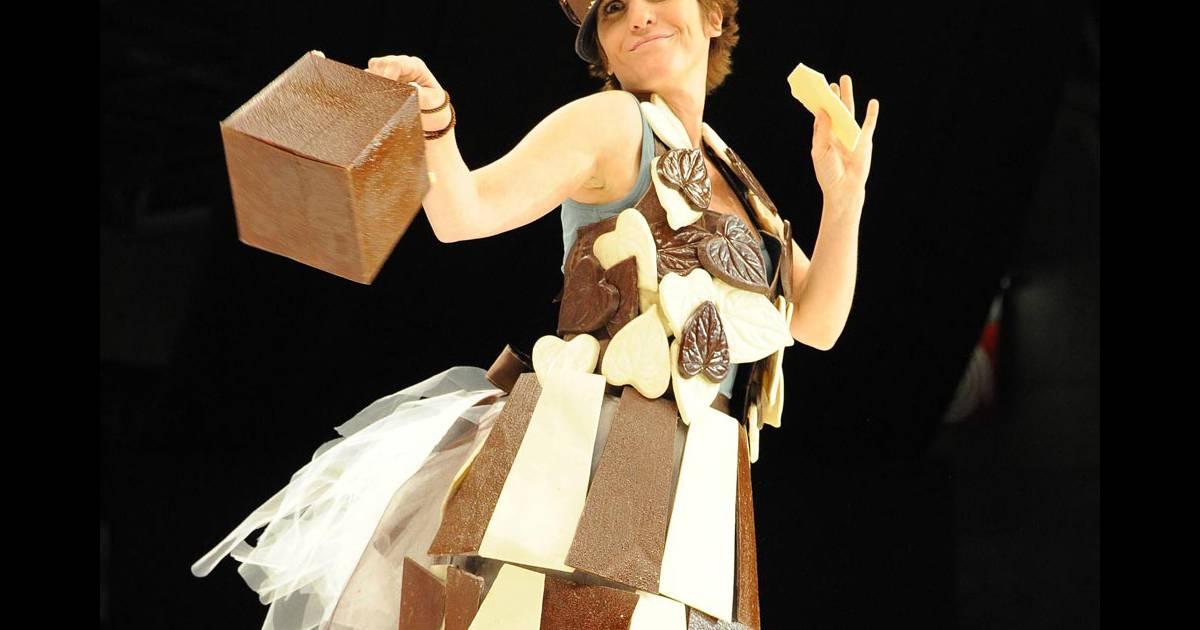 Maureen dor a d fil lors du salon du chocolat le 27 for Salon du divorce