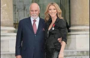 René Angelil, Céline Dion et leurs jumeaux :