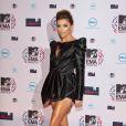 Eva Longoria arrive aux MTV EMA le 7 novembre 2010 à Madrid