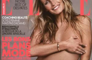 Estelle Lefébure dévoile son ventre de future maman, toujours sublime à 44 ans !