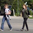 Nicole Kidman, Keith Urban et leur petite Sunday Rose (6 novembre 2010 à Los Angeles)