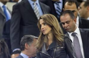 Rania de Jordanie : Superbe supportrice avec son fils, shoppeuse avec sa fille !