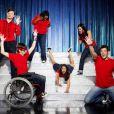 Une partie de la troupe de Glee.