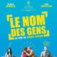 L'affiche du film Le nom des gens