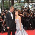 Tony Parker et Eva Longoria en mai 2009, à Cannes.