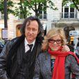 Nicoletta et son futur mari Jean-Christophe au gala Musique contre l'oubli en 2008