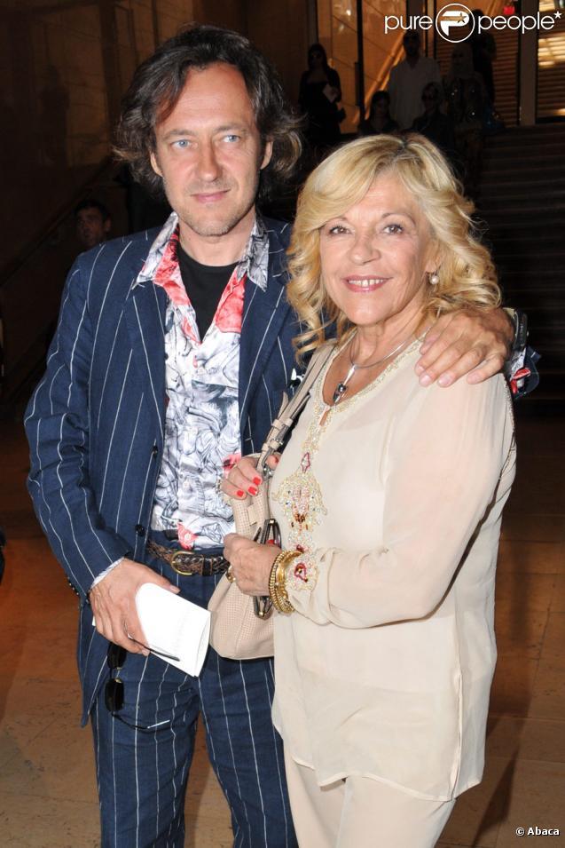 Nicoletta et son futur mari Jean-Christophe en 2010