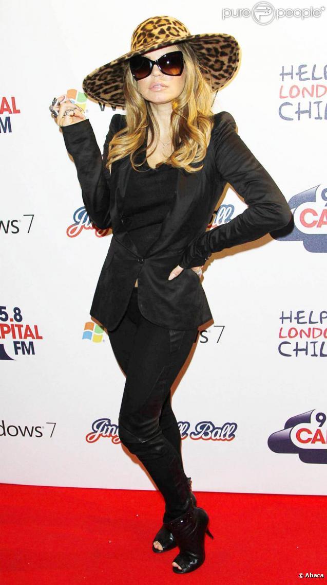 Les Black Eyed Peas au Jingle Ball de Capital FM, à Londres, le 4 décembre 2010.