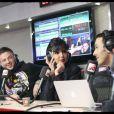Rachida Dati est reçue par Nikos Aliagas et ses acolytes, lors de l'émission Le 6/9, sur NRJ. 6/12/2010