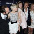 Derek Cianfrance, Michelle Williams, Faith Wladyka et Ryan Gosling lors de l'avant-première de Blue Valentine à New York le 7 décembre 2010