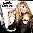 Avril Lavigne dévoile la pochette de son album  Goodbye Lullaby , dans les bacs en mars 2011.